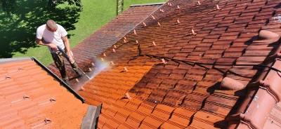 Čiščenje strehe